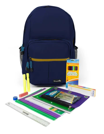 4th-6th Grade Kit w/ Backpack (Assorted Colors)