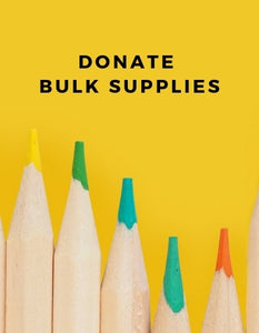 Donate Bulk School Supplies