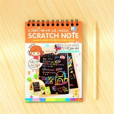 Scratch Drawing Set