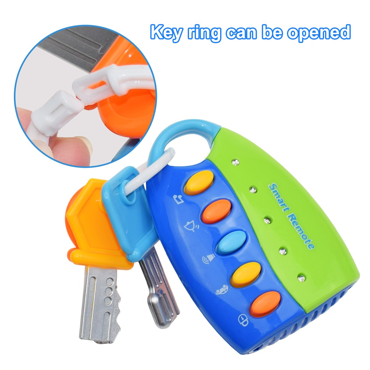 Toy Car Keys