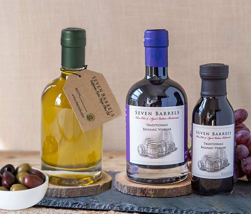 Miller's Blend Olive Oil and Traditionale Aged Balsamic