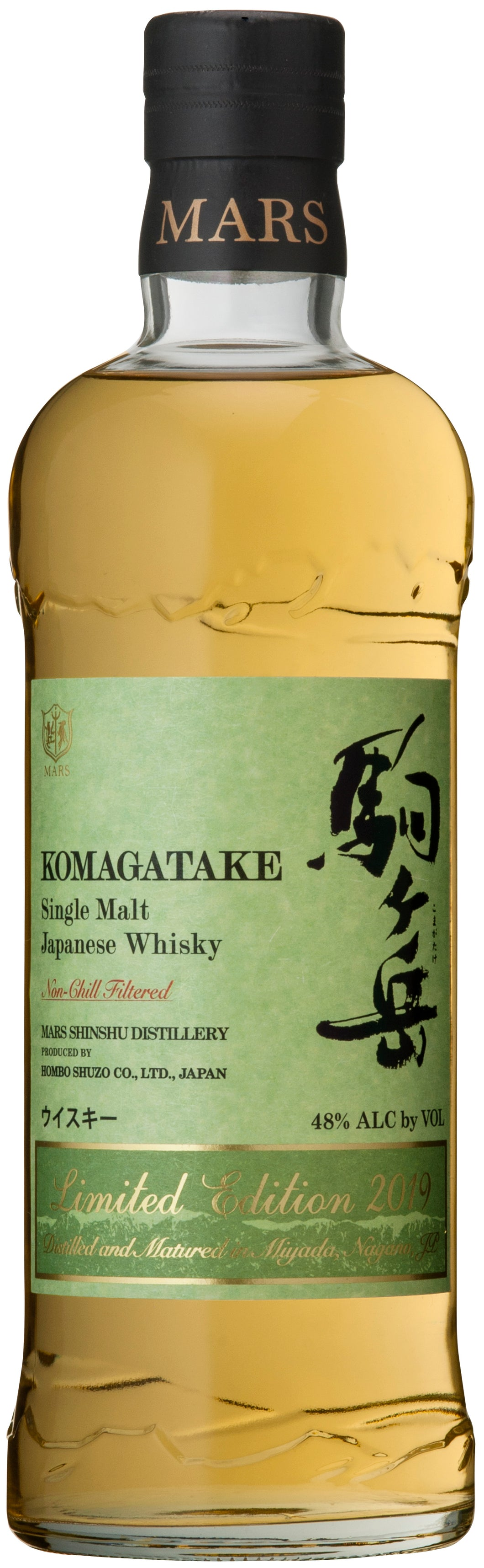 MARS KOMAGATAKE Single Malt Limited Edition 2019 750 ml