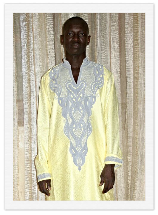 Kaftan | Pikine Design - Yellow