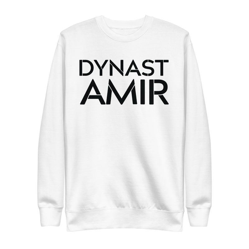 Dynast Amir | On White - Unisex Fleece Pullover
