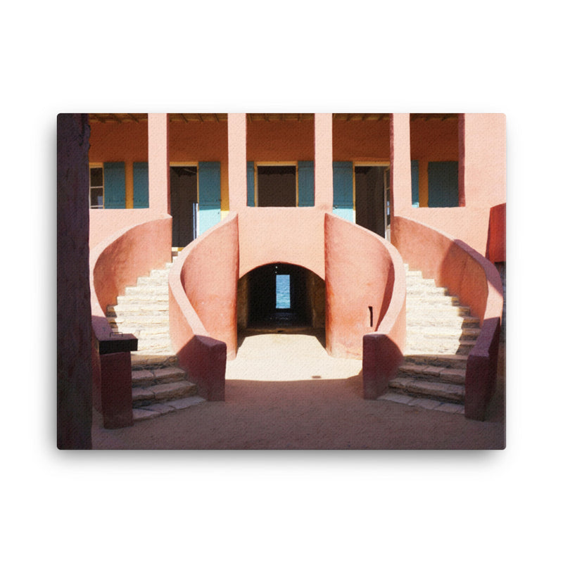 Point of No Return- Goree Island | On Canvas - 18x24