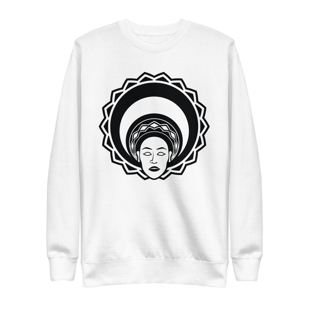 Calaafia | On White - Unisex Fleece Pullover