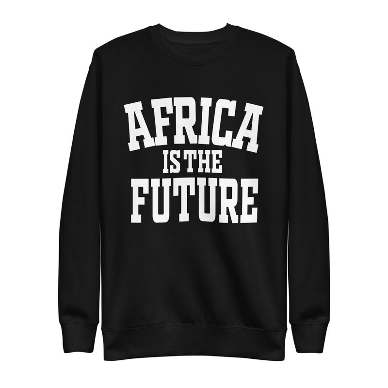 Africa is the Future | On Black - Unisex Fleece Pullover