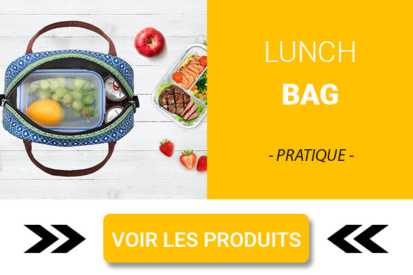 Sac repas isotherme