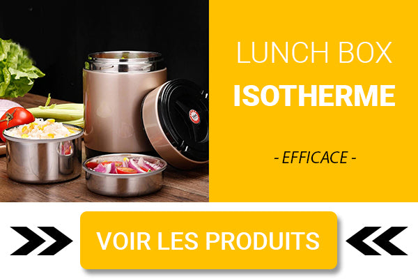 Lunch box isotherme double paroi