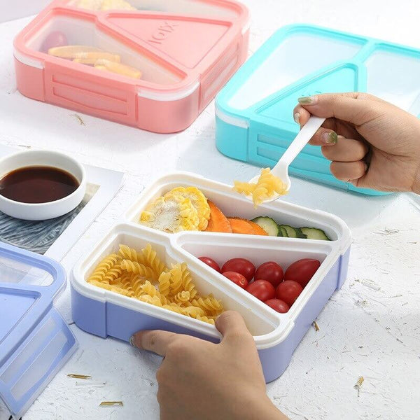 Box bento compartimentée