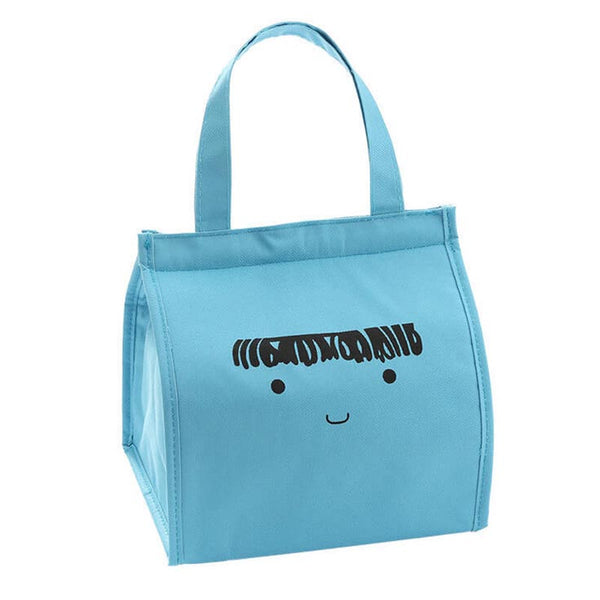 Lunch bag enfant isotherme visage bleu