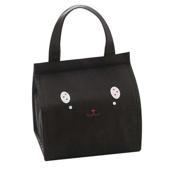 Lunch bag enfant isotherme visage noir