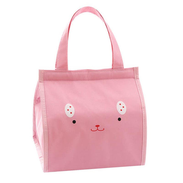 Lunch bag enfant visage rose