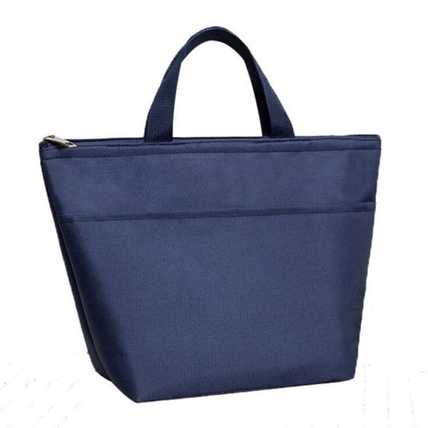 Lunch bag isotherme bleu marine