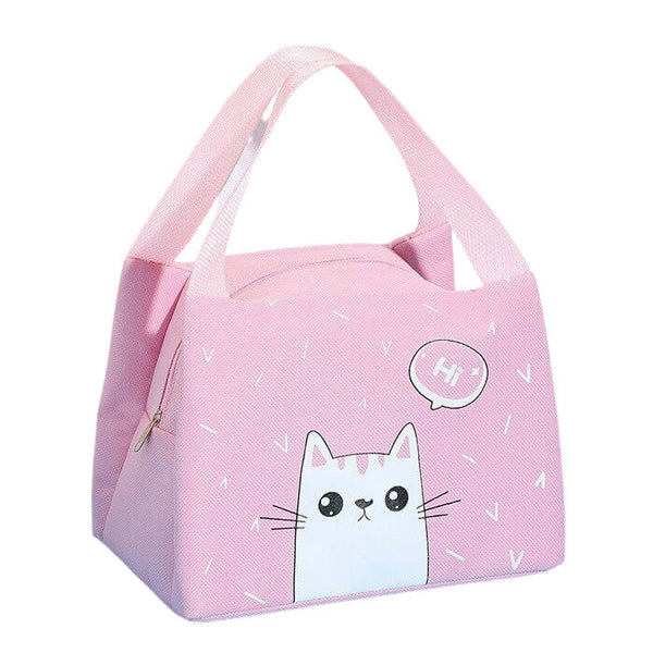 Lunch bag isotherme enfant chat