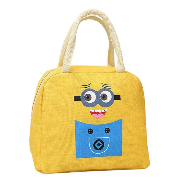 Lunch bag isotherme enfant jaune
