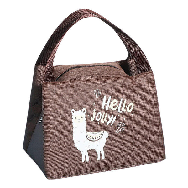 Lunch bag isotherme enfant lama