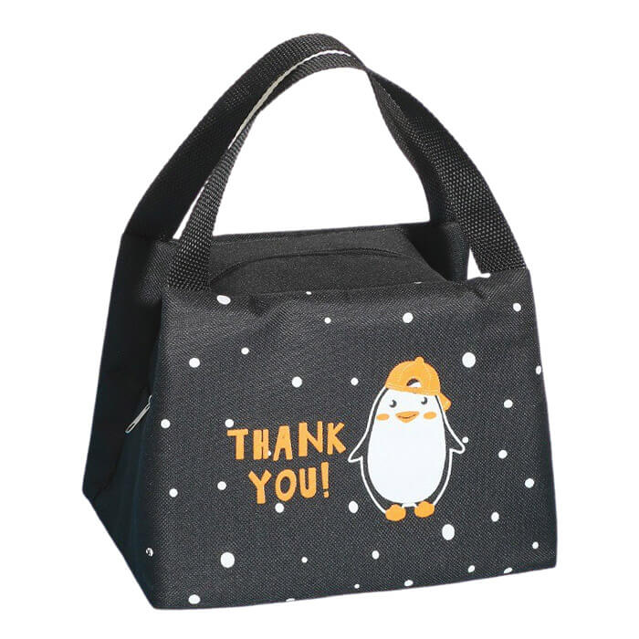 Lunch bag isotherme enfant pingouin