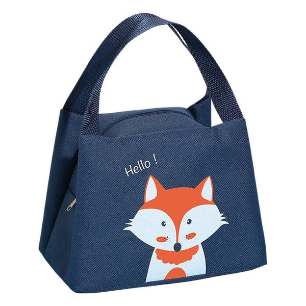 Lunch bag isotherme enfant renard