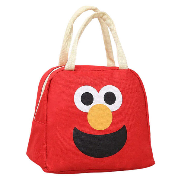 Lunch bag isotherme enfant rouge