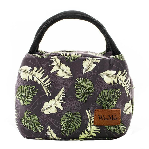 Lunch bag isotherme feuilles d'automne