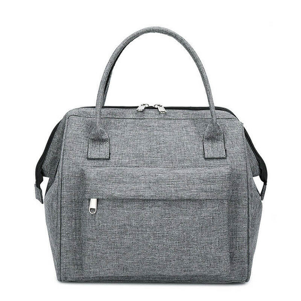 Lunch bag isotherme homme gris