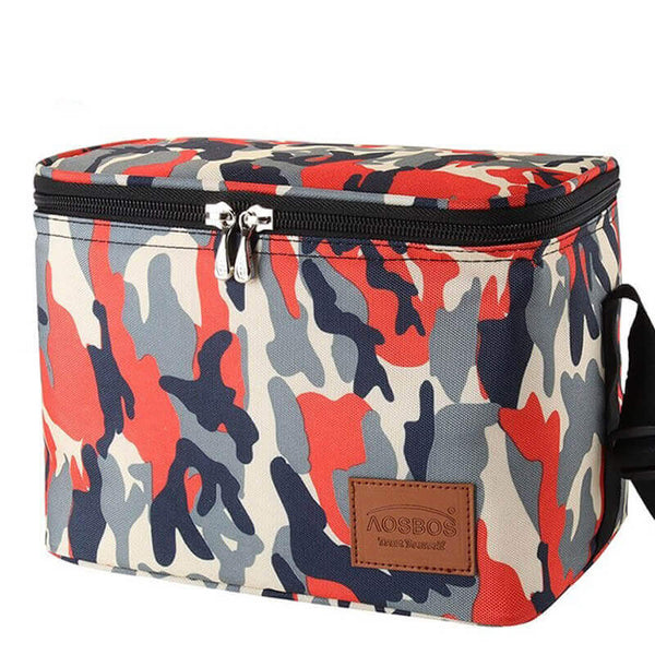 Lunch bag isotherme homme militaire
