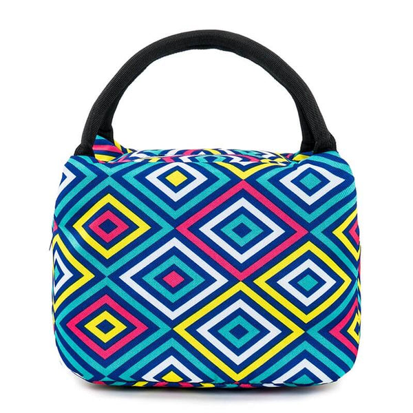 Lunch bag isotherme losange de couleur
