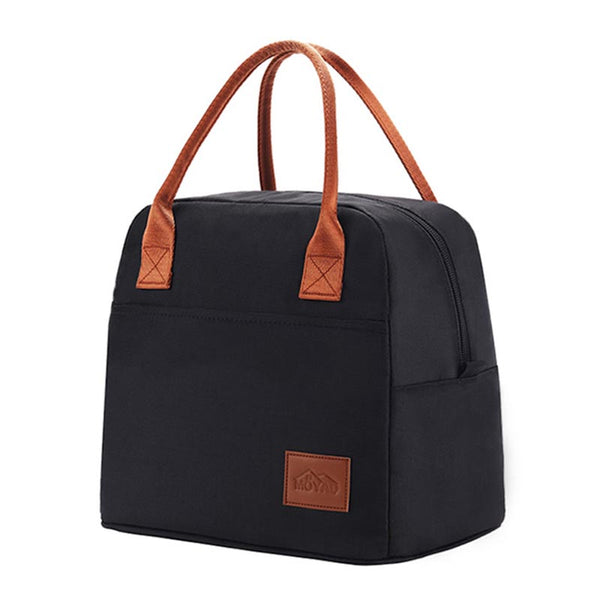 Lunch bag isotherme noir homme