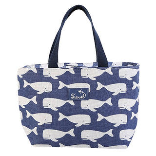 Lunch bag isotherme original motif baleine