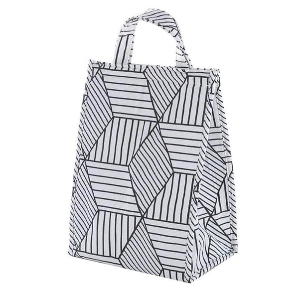 Lunch bag isotherme trompe l'oeil