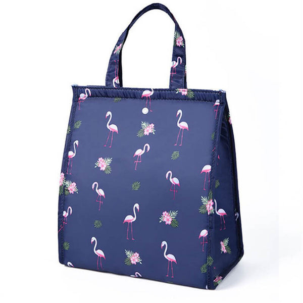 Lunch bag original femme flamant rose