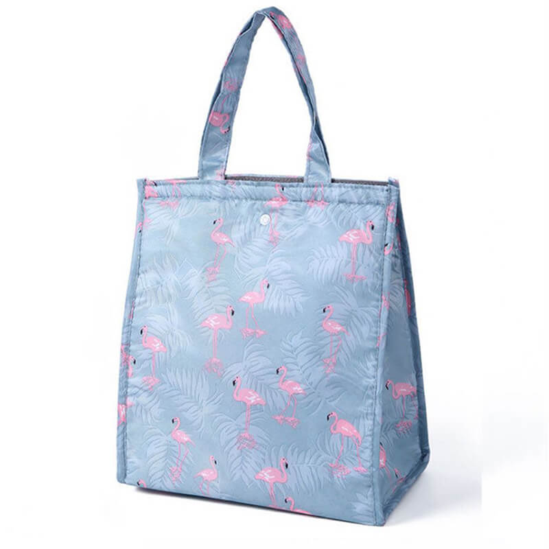 Lunch bag original isotherme flamant rose