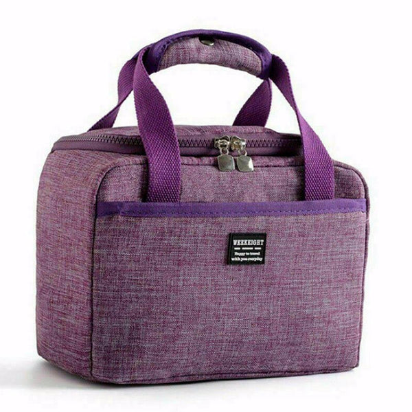Lunch bag violet