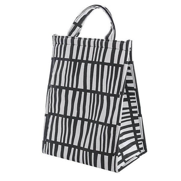 Lunch bag isotherme noir et blanc