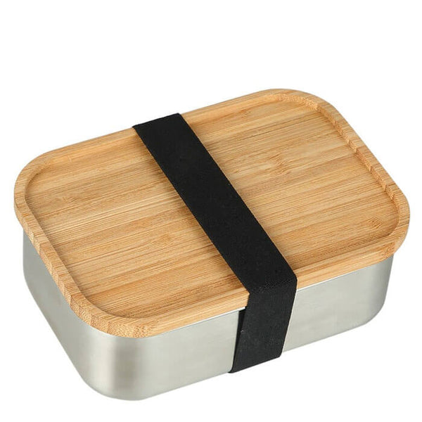 Lunch box bambou et inox