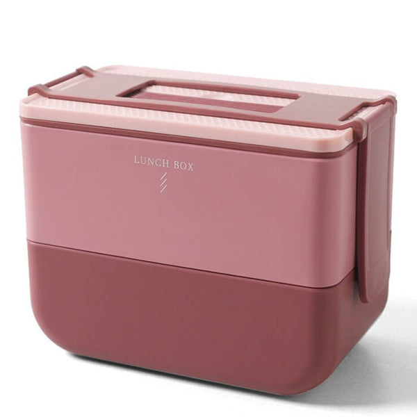 Lunch box bento bordeaux 600 à 1100ml