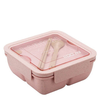 Lunch box bento écologique rose 1100ml