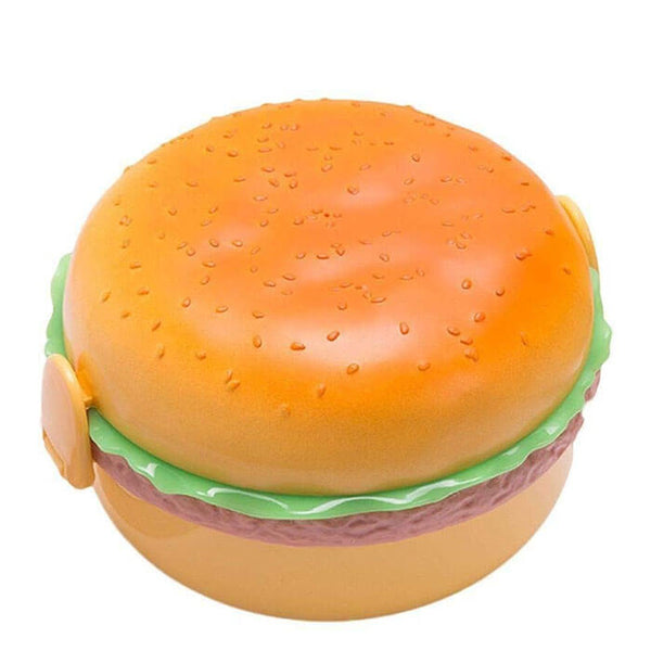Lunch  box enfant hamburger rond