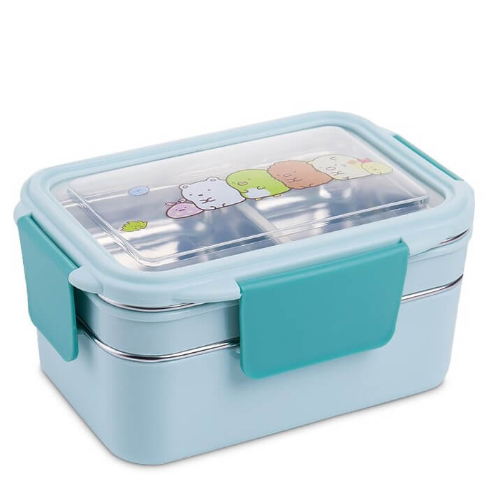 Lunch box isotherme enfant bleue