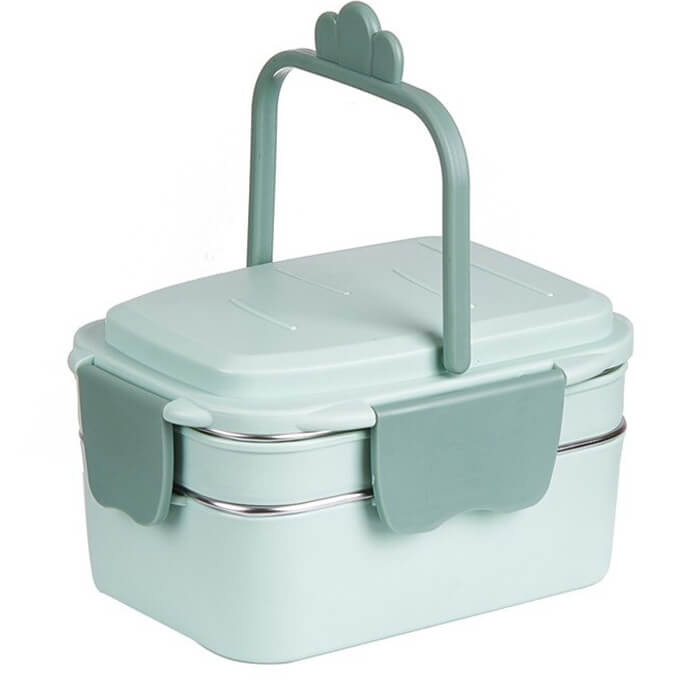 Lunch box isotherme verte 1000ml