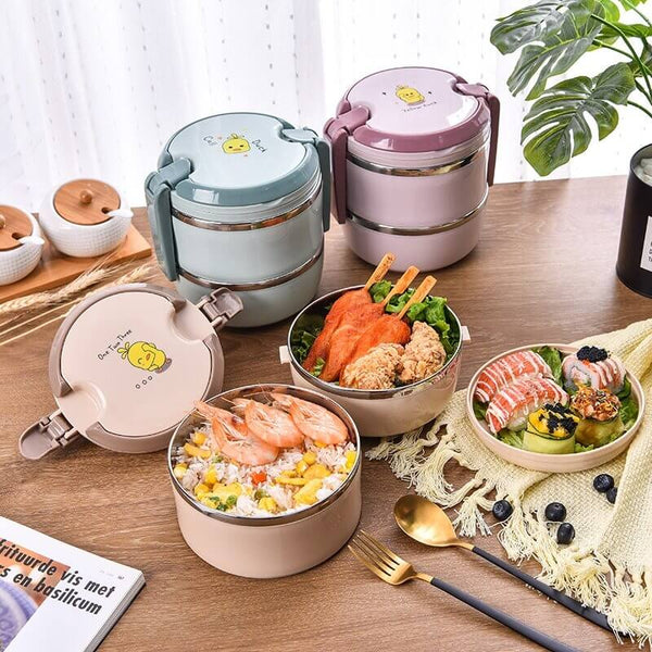 Lunch box ronde isotherme