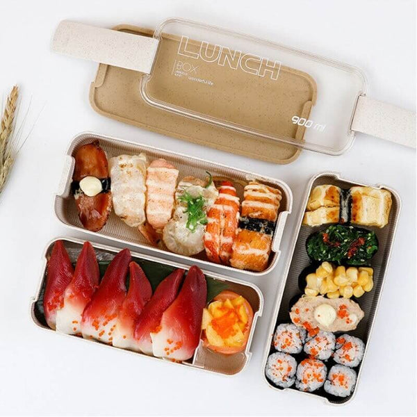 Lunch box sushis