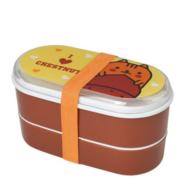 Lunch box enfant - I love chestnut - 600ml
