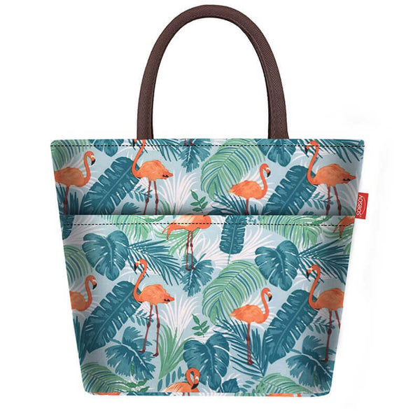 Sac isotherme lunch flamant rose