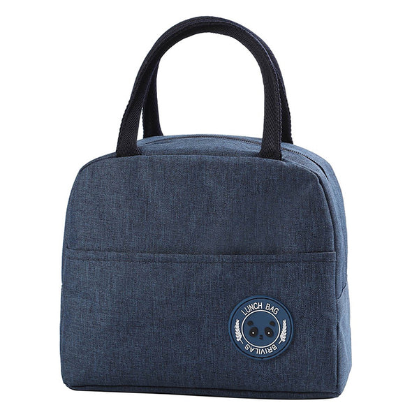 sac lunch box isotherme bleu