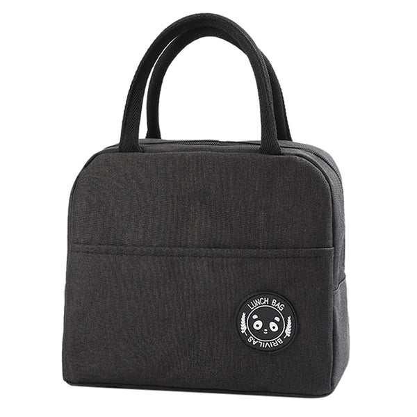 Sac lunch box isotherme noir