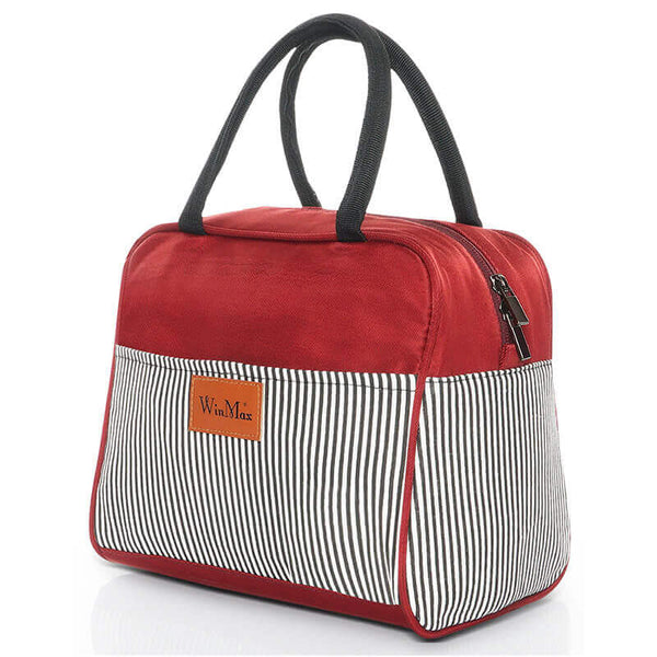 Sac lunch box isotherme rouge