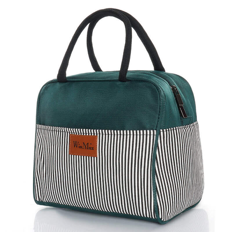 Sac lunch box isotherme vert