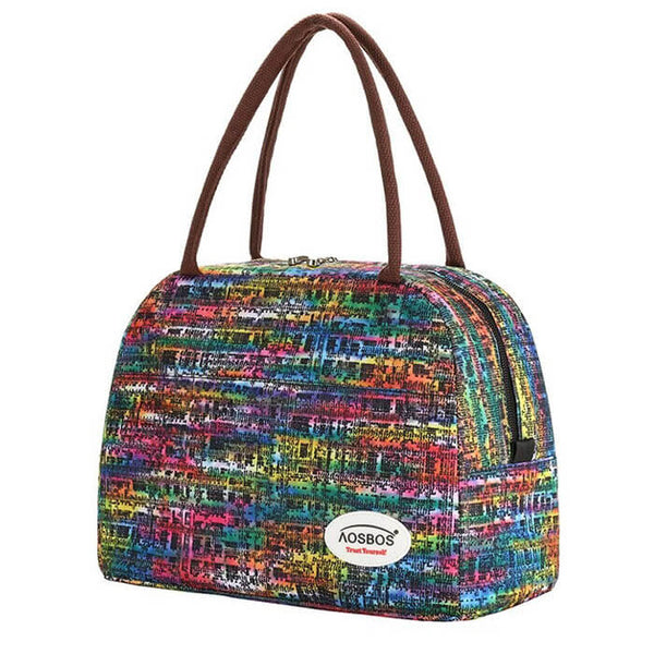 Sac repas isotherme multicolore